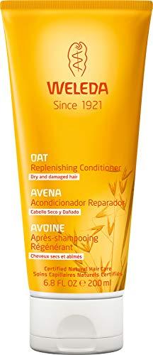 Weleda Haver opbouw-spoeling, verzorging haarspoeling geeft elasticiteit, weerstand en glans, de natuurlijke cosmetica haarolie verbetert de kambaarheid (1 x 200 ml)