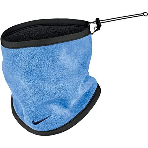 Nike Scaldacollo Unisex Reversibile Neck Warmer (One Size, Azzurro/Black)