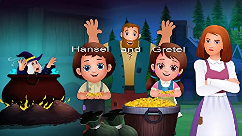 Hansel and Gretel ( Picture book) (English Edition)