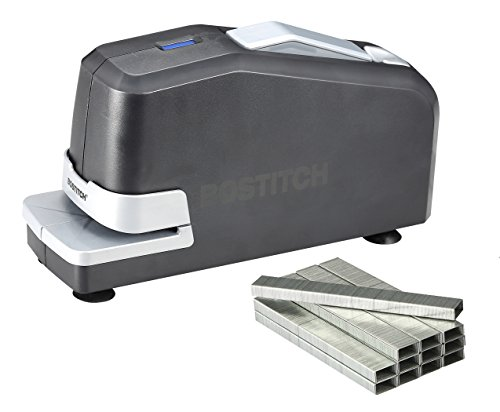 Bostitch Office Impulse 30 Sheet Electric Stapler Value Pack - Heavy Duty, No-Jam with Trusted Warranty Guaranteed by Bostitch, Black (02638)