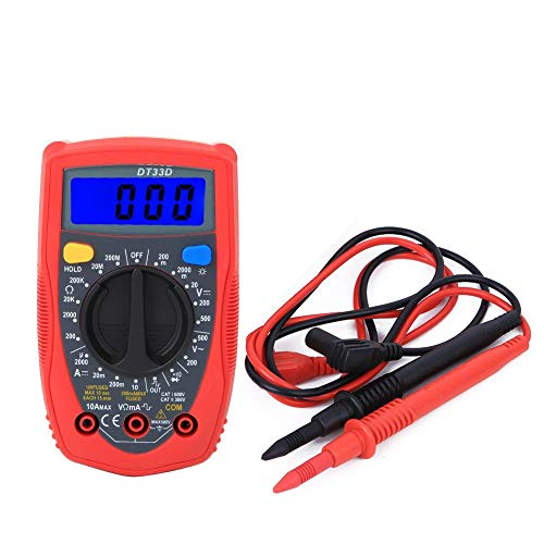 Best Deals! Mini Digital Multimeter Voltmeter Portable Universal Meter 130 x 73.5 x 35mm