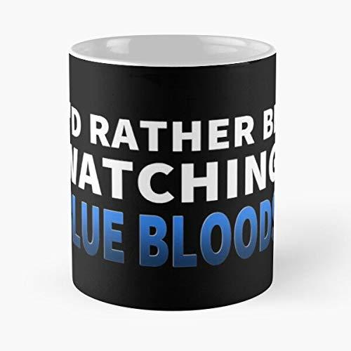 Selleck Blood Reagan Watching Rather Id Blue Frank Tom Bloods Be Best Taza de café de cerámica de 11 oz Personalizar