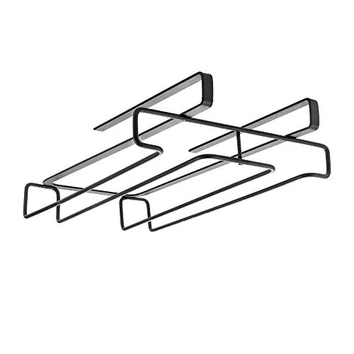 Metaltex Lava Organizador Copas, Negro, 21x28x7