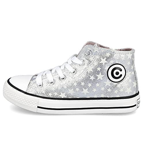 Conguitos Street Style, Zapatillas Mujer, Plata, 35 EU