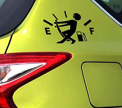 Wandaufkleber Lustige Menschen Verbrauch Lustige Autoaufkleber Für Wohnmobil Lkw Minicab Motorräder Auto Styling Wasserdicht Vinyl Aufkleber 13 * 12Cm