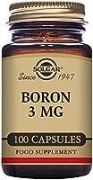 Solgar Boro Cápsulas Vegetales de 3 mg, Envase de 100