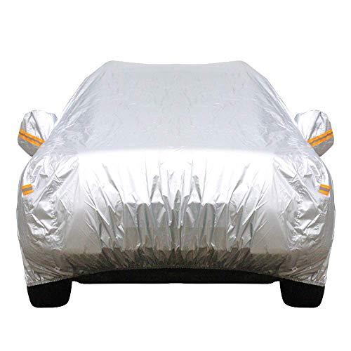 Coche a prueba de agua cubre la cubierta exterior de protección solar a prueba de polvo resistente a arañazos al aire libre UV Protección universal