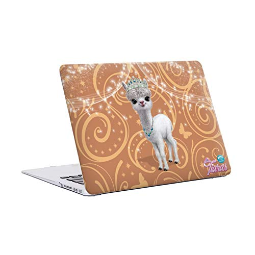 Official Animal Club International Llama Pet Royalties Hard Crystal Case Cover Compatible for MacBook Air 13' A1369 / A1466