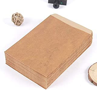 CHUJIAN 10PCS Vintage Kraft Paper Envelope Creative Envelope Scrapbooking DIY Decorative Envelope Gift School Office Supplies