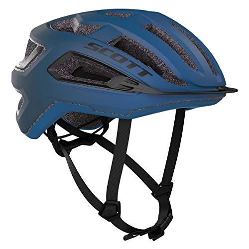 Scott 275195 - Casco de Bicicleta Unisex para Adulto, Azul Skydive