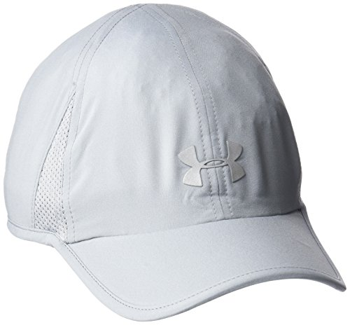 Under Armour Women's Shadow 2.0 Hat, Steel (035)/Silver, One Size Fits All