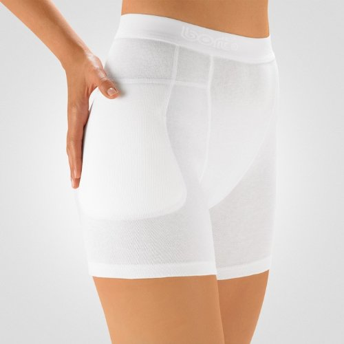 bort 201200 medium StabiloHip Ersatzhose ohne Protektoren, medium 40/48, weiß