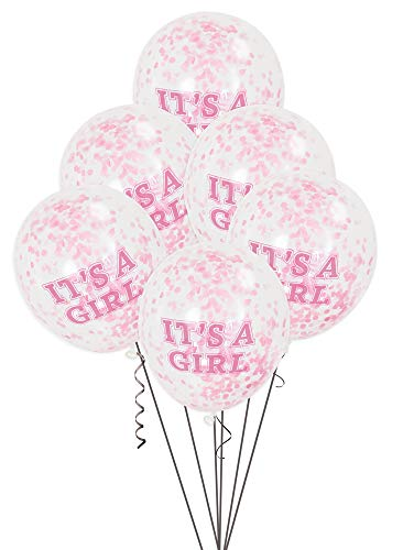 Confetti Ballonnen Feestartikelen Confetti-ballonnen Eén maat roze