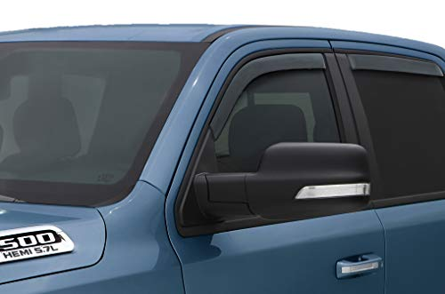 Auto Ventshade 194813 Ventvisor In-Channel Side Window Deflector, 4 pc set for 2019-2020 Ram 1500 Quad Cab