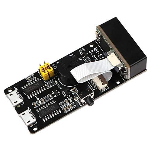Módulo de escáner de código de barras Huante V3.0 1D/2D Lector de códigos de barras de motor de escaneo bidimensional del motor de barras, módulo de reconocimiento de código de barras