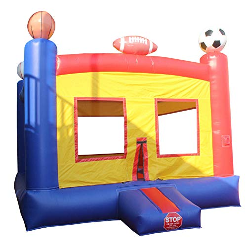Inflatable Jumper Sports Themed Commercial Bounce House Kids Bouncer