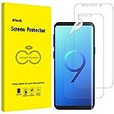 Jetech protector de pantalla compatible samsung galaxy s9 (no para s9+), alta definición tpu, compatible con funda, 2 unidades