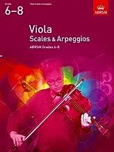 Viola Scales & Arpeggios Grades 6-8
