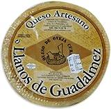 Llanos de Guadalmez Queso Artesano Curado Elaborado con Leche de Oveja Pasteurizada 850gr