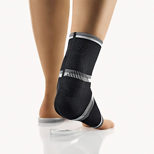bort 054900 medium schwarz Bort AchilloStabil ECO Achillessehnenbandage rechts und links gleich, medium, schwarz