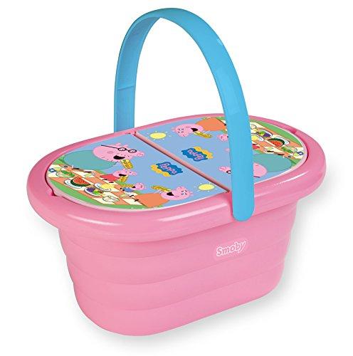 Smoby Enchantimals Picnic Basket Peppa Pig Picnic Basket 24.4 x 13.7 x 12.7 pink