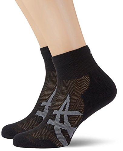 ASICS Herren 2PPK Cushioning Socken, Performance Black, 35-38