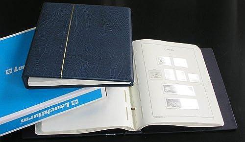 Leuchtturm SF Vordruckalbum Europa CEPT 1990-1997 im blauen Schraubbinder