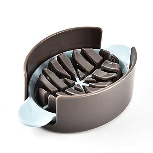 Bakning av äggskärare Multifunktionell äggskärare Köksverktyg Äggskärning 3in1 Prylar Äggdelare Artefakt Matlagningsverktyg