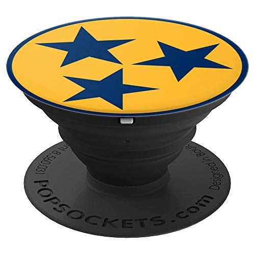 Nashville 3 Stars PopSockets Grip and Stand for Phones and Tablets