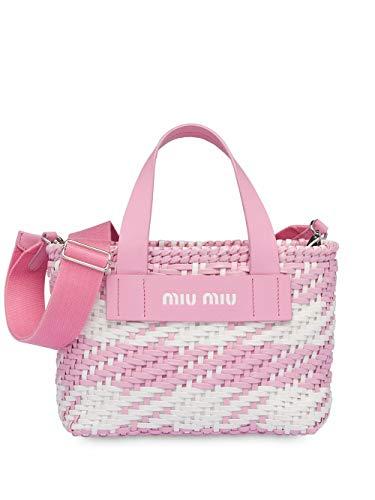 Miu Miu Luxury Fashion Damen 5BA077VOI12D3OF0UJ2 Rosa Polyurethan Handtaschen | Frühling Sommer 20