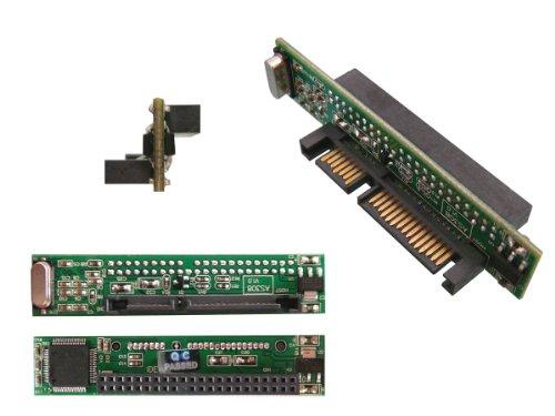 Kalea Informatique Adapter IDE 44Pins 2.5auf SATA, ultra-flach, zur Verwendung einer externen IDE-Festplatte statt einer SATA-Festplatte in Laptops oder Desktop-PCs
