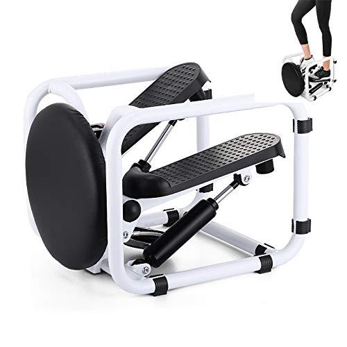 GW Mini Fitness Twist Stepper Pantalla electrónica Ejercicio Silla de Entrenamiento Asiento Equipo de Gimnasio para Gimnasio Inicio