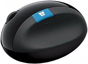 MICROSOFT Wireless Sculpt Ergonomic USB Optical Mouse - Retail Box (Black)