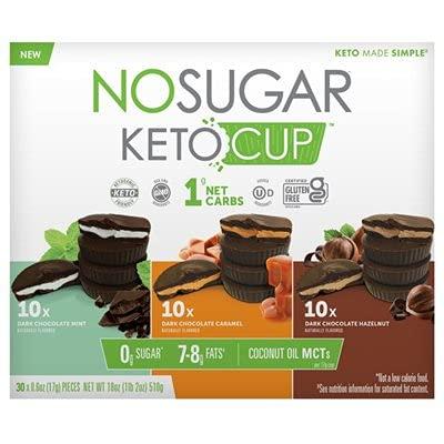 No Sugar Keto Cup 3 Flavors