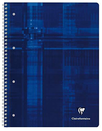 Clairefontaine 8258C Collegeblock (A4, kariert, 160 Blatt) 1 Stück blau