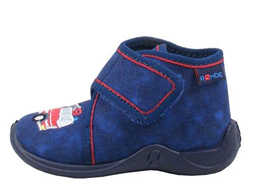 Rohde Jungen Kiddie Hohe Sneaker, Blau (Ocean), 24 EU