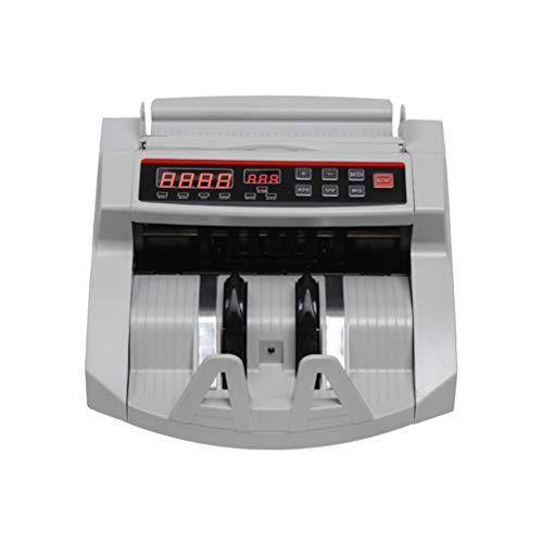 Money Bill Counter Counting Machine Detector de Billetes Falsos UV y MG para Cash Bank