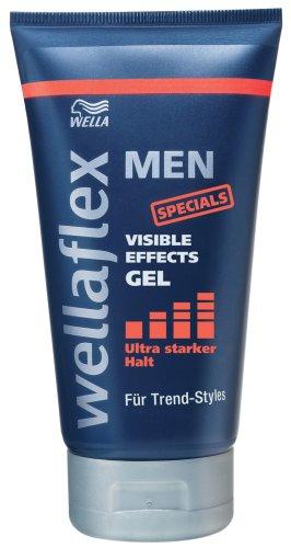 Wellaflex Men Visible Effects Gel ultra starker Halt, 6er Pack (6 x 150 ml)