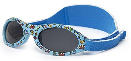 Gafas de sol bebe PREMIUM para niños edad 0 meses a 2 años CON SUAVE SILICONA, LENTE POLARIZADA Y BANDA AJUSTABLE, 100% protección rayos, SUPER CONFORTABLES, ideal regalo, Kiddus Baby KI30305