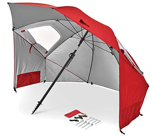 Sport-Brella Premiere UPF 50+ Umbrella Shelter for Sun and Rain Protection...