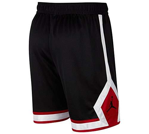 Nike M J Jumpman Diamond Short Pantaloncini Sportivi, Nero, L Uomo