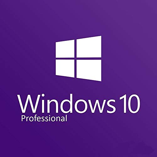 Windows 10 Professional 64 Bit OEM DVD - Windows 10 Pro License - for 1 PC