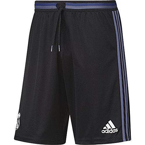adidas REAL TRG SHO - korte broek - Línea Real Madrid CF - heren, zwart/donkerpaars, XS