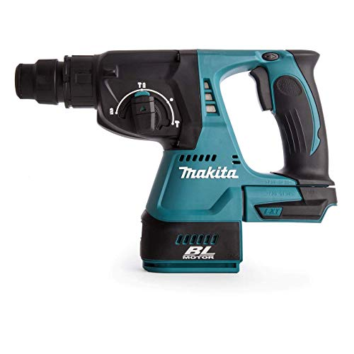 Makita DHR242ZJ 18V Brushless 3-Mode SDS Plus Rotary Hammer Drill 24mm (Body Only) in MakPac Case