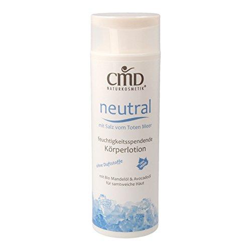 CMD Neutral Körperlotion mit Salz vom Toten Meer 200 ml (bio, vegan, Naturkosmetik)