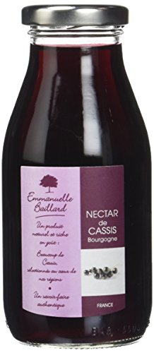 Emmanuelle Baillard nectar cassis 25cl -  Lot de 9