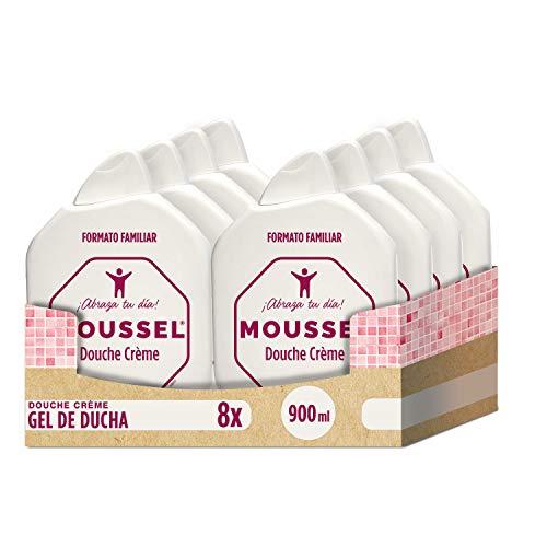 Moussel Crème Douche Proteínas Leche - Paquete 8