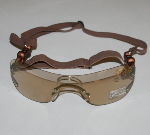 Doggles Small K9 Optix Sunglasses for Dogs, Frameless, Copper Lens