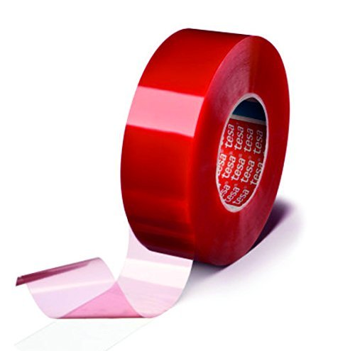 Tesa 4965 Double Sided Permanent Poly Tape Heavy Duty Trims and Panels Adhesive. 25mm. Code TESA4965 by Trade Shop Direct