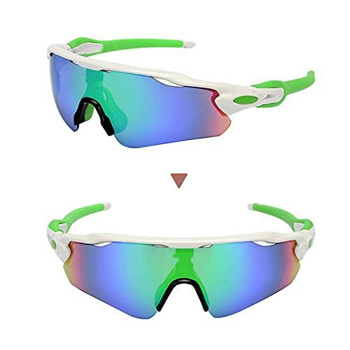 ZYUJ Ciclismo Gafas de verano Ciclismo Montañismo Gafas polarizadas Deportes al aire libre Moda Gafas de sol para ciclismo al aire libre Golf